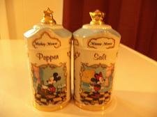 Buy Disney Mickey & Minnie Salt & Pepper Shakers
