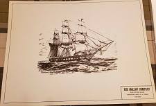 Buy J Harold Bailey - 1797 U.S. Frigate Constellation lithograph print