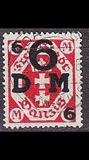 Buy GERMANY REICH Danzig [Dienst] MiNr 0025 a ( OO/used )