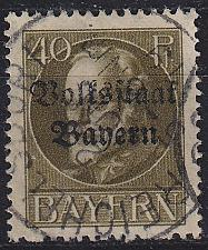 Buy GERMANY Bayern Bavaria [1919] MiNr 0124 A ( O/used )