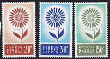Buy ZYPERN CYPRUS [1964] MiNr 0240-42 ( **/mnh ) CEPT