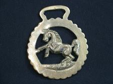 Buy Vintage Medallion Harness Horse Brass Rearing Horse