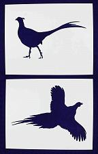Buy Large Pheasant Stencils -2 pc set-Mylar 14mil - Painting /Crafts/ Templates