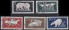 Buy GERMANY DDR [1956] MiNr 0551-56 ( O/used ) Tiere