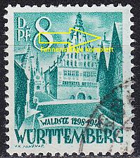 Buy GERMANY Alliiert Franz. Zone [Württemberg] MiNr 0016 y I ( O/used )