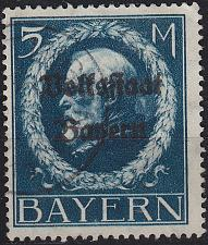 Buy GERMANY Bayern Bavaria [1919] MiNr 0131 II A ( O/used )