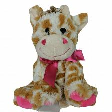 "Buy Dan Dee Collectors Choice Valentine Giraffe Heart Bow Plush Stuffed Animal 8"""