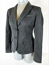 Buy NEW YORK & COMPANY womens Sz 2 L/S gray 2 pocket FULLY LINED jacket (A3)