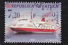 Buy KROATIEN CROATIA [1998] MiNr 0480 ( O/used ) Schiffe