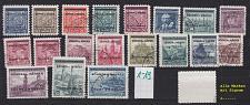 Buy GERMANY REICH Böhmen Mähren [1939] MiNr 0001-19 ( O/used ) signiert