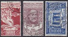Buy ITALIEN ITALY [1922] MiNr 0157-59 ( O/used ) [02]