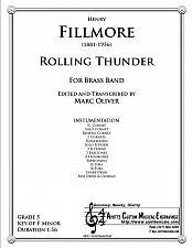 Buy Fillmore - Rolling Thunder (Brass Band)