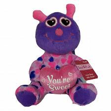 "Buy NWT Homerbest Valentine Love Bug Your Sweet Pink Plush Stuffed Animal 11"""