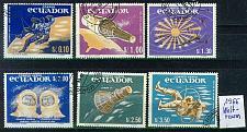 Buy ECUADOR [1966] MiNr 1208-13 ( O/used ) Weltraum