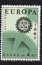 Buy GRIECHENLAND GREECE [1967] MiNr 0949 ( **/mnh ) CEPT