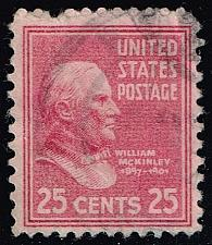 Buy US #829 William McKinley; Used (0.25) (2Stars) |USA0829-05XRS