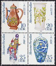 Buy GERMANY DDR [1982] MiNr 2667-70 4er ( **/mnh ) Meissen