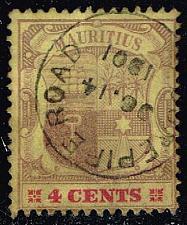 Buy Mauritius #98 Coat of Arms; Used (0.50) (1Stars)  MAU0098-01XRS