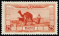 Buy French Morocco #CB2 Moor Plowing; Unused (4Stars) |FRMCB02-01XRP