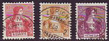 Buy SCHWEIZ SWITZERLAND [1909] MiNr 0114-16 ( O/used )