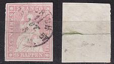 Buy SCHWEIZ SWITZERLAND [1854] MiNr 0015 ( O/used ) [01]