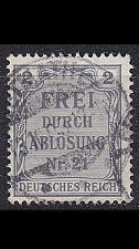 Buy GERMANY REICH Dienst [1903] MiNr 0001 ( O/used ) [01]