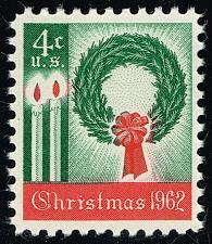 Buy US #1205 Wreath & Candles; MNH (4Stars) |USA1205-05