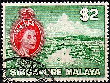 Buy SINGAPUR SINGAPORE [1955] MiNr 0041 ( O/used )