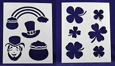 "Buy St. Patrick's Day -2 Piece Stencil Set 14 Mil 8"" X 10"" Painting /Crafts/ Templat"
