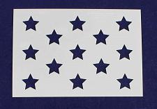 "Buy 13 Star US Flag Field Stencil 14 Mil -7""H X 10""L - Painting/Crafts/ Templates"
