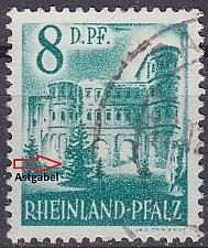 Buy GERMANY Alliiert Franz. Zone [RheinlPfalz] MiNr 0018 y III ( O/used )