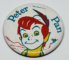 Buy AUTHENTIC WALT DISNEY'S PETER PAN 3 INCH COLLECTIBLE PINBACK BUTTON RARE