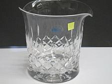 Buy Hand cut glass ice bucket 24% lead crystal
