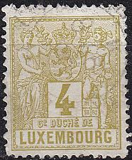 Buy LUXEMBURG LUXEMBOURG [1882] MiNr 0047 C ( O/used )