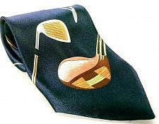 Buy Christian Giorgiou Men's Dress Necktie 100% Polyester Golf Club Novelty
