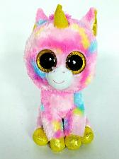Buy Ty Beanie Boo Fantasia Pink Unicorn Glitter Eyes Plush Animal 2015 7""
