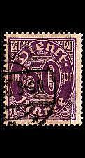 Buy GERMANY REICH Dienst [1920] MiNr 0021 ( O/used )