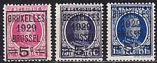 Buy BELGIEN BELGIUM [1929] MiNr 0251-53 ( */mh )