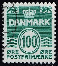Buy Denmark #631 Wavy Lines; Used (5Stars) |DEN0631-01XBC