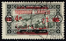 Buy Lebanon #104 View of Beirut - Surcharged; Used (1.90) (1Stars) |LEB0104-03XRS