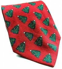 Buy Jos A Bank Executive Collection Christmas Tree Green Red Novelty Silk Tie