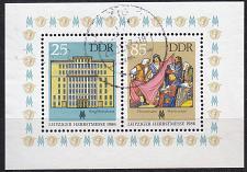 Buy GERMANY DDR [1986] MiNr 3038-39 Block 85 ( OO/used )