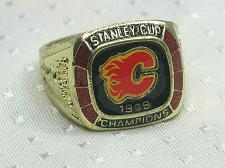 Buy Calgary Flames Championship Ring NHL Stanley Cup Molson Canadian New