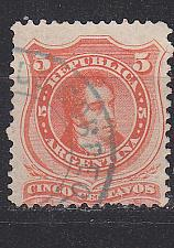 Buy ARGENTINIEN ARGENTINA [1867] MiNr 0020 I ( O/used )