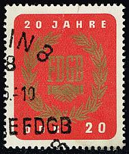 Buy Germany DDR #773 Free German Trade Union; CTO (0.25) (4Stars) |DDR0773-03