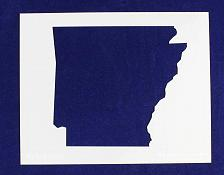 """Buy State of Arkansas Stencil 14 Mil 8"""" X 10"""" Painting /Crafts/ Templates"""