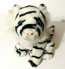 "Buy Busch Gardens Black White Tiger Plush 10"""