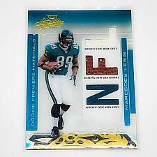 Buy NFL MARCEDES LEWIS JAGUARS 2008 PLAYOFF ABSOLUTE GAME-USED TRIPLE RELIC /849 MNT