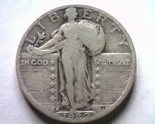 Buy 1929-S STANDING LIBERTY QUARTER VERY GOOD+ VG+ NICE ORIGINAL COIN BOBS COINS