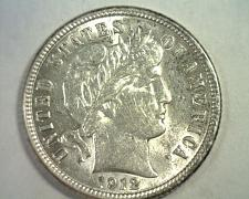 Buy 1912 BARBER DIME CHOICE ABOUT UNCIRCULATED+ CH AU+ NICE ORIGINAL COIN BOBS COINS